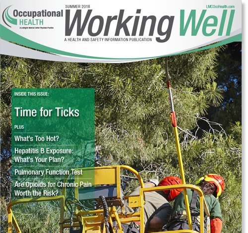 Working Well Summer Cover
