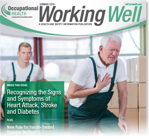 Working Well Winter 2019 Cover